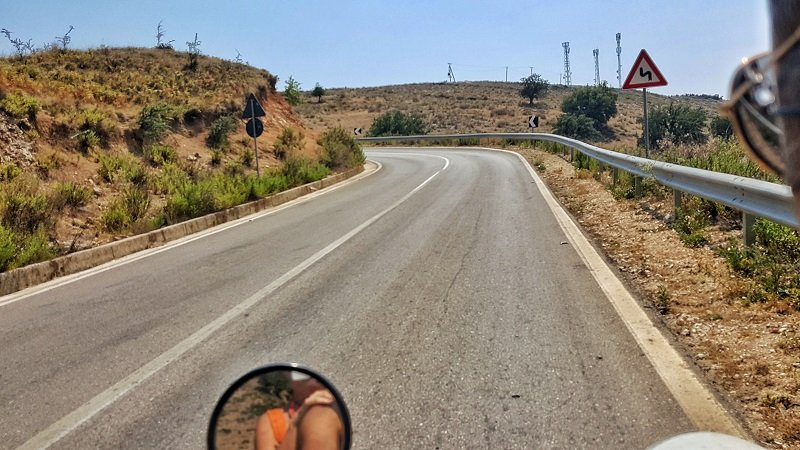 Visitare il sud Albania in scooter