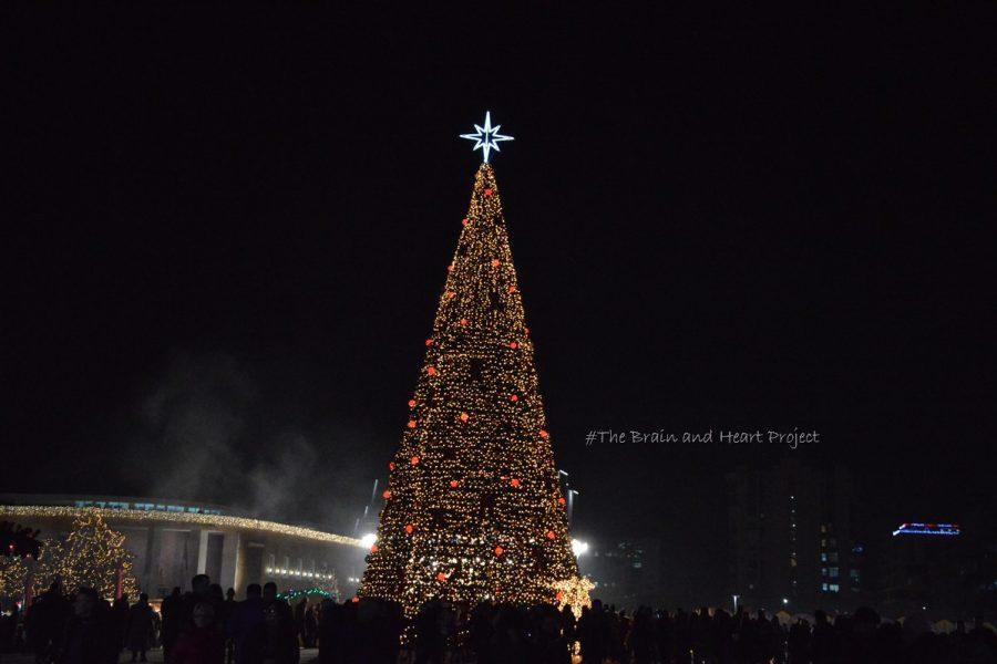 Skandenberg Square a Natale