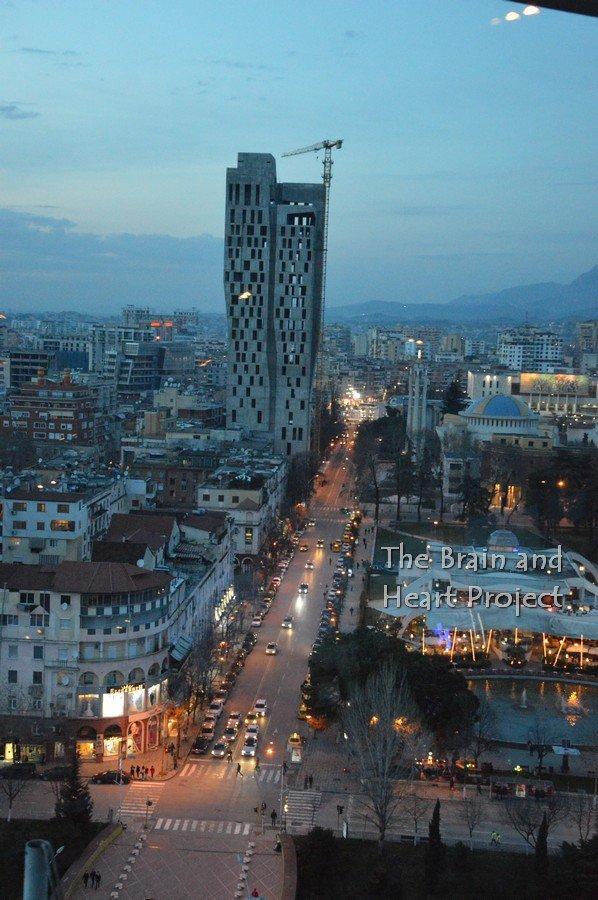 8Sky Tower Tirana