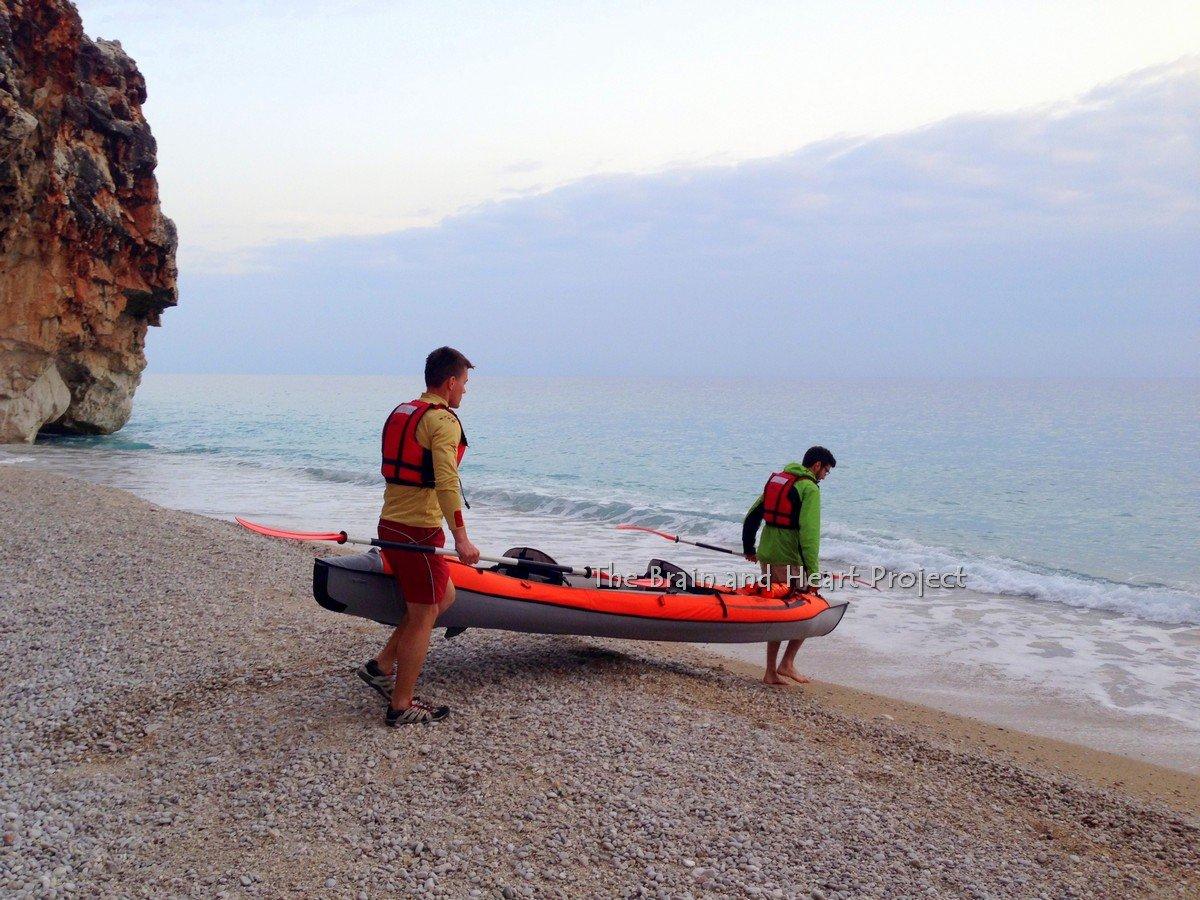 Kayak in Albania