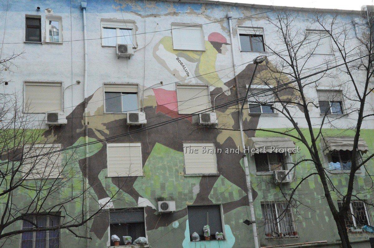 Inverno a Tirana