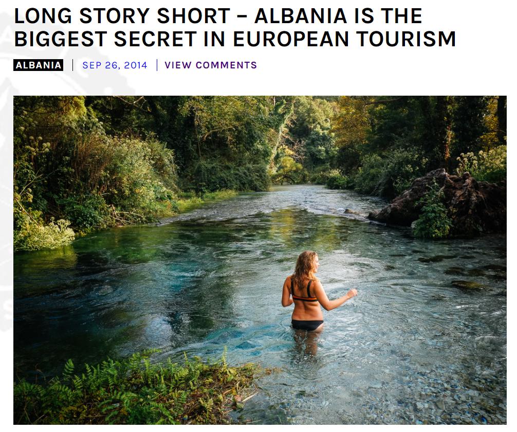 Trend Turismo 2017 Albania