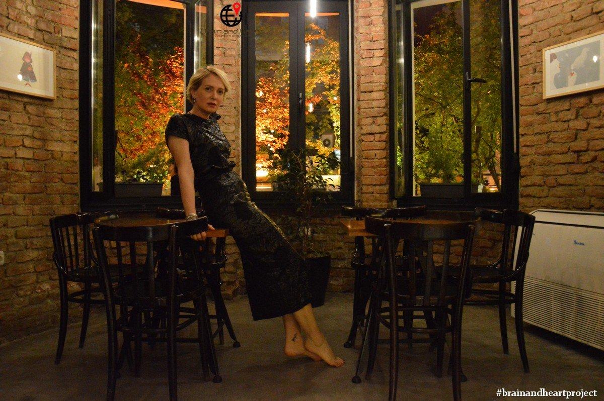 Alessia Foglia a Tirana