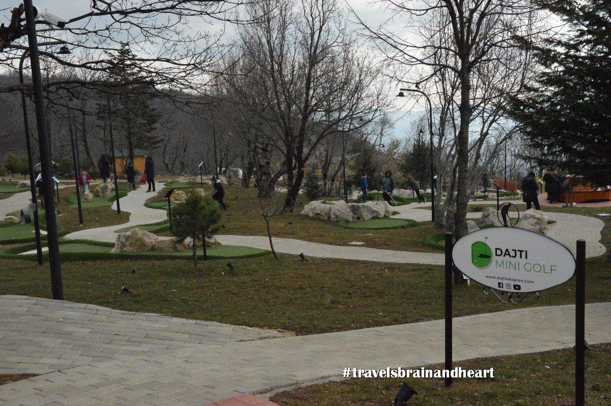 Monte Dajti a Tirana